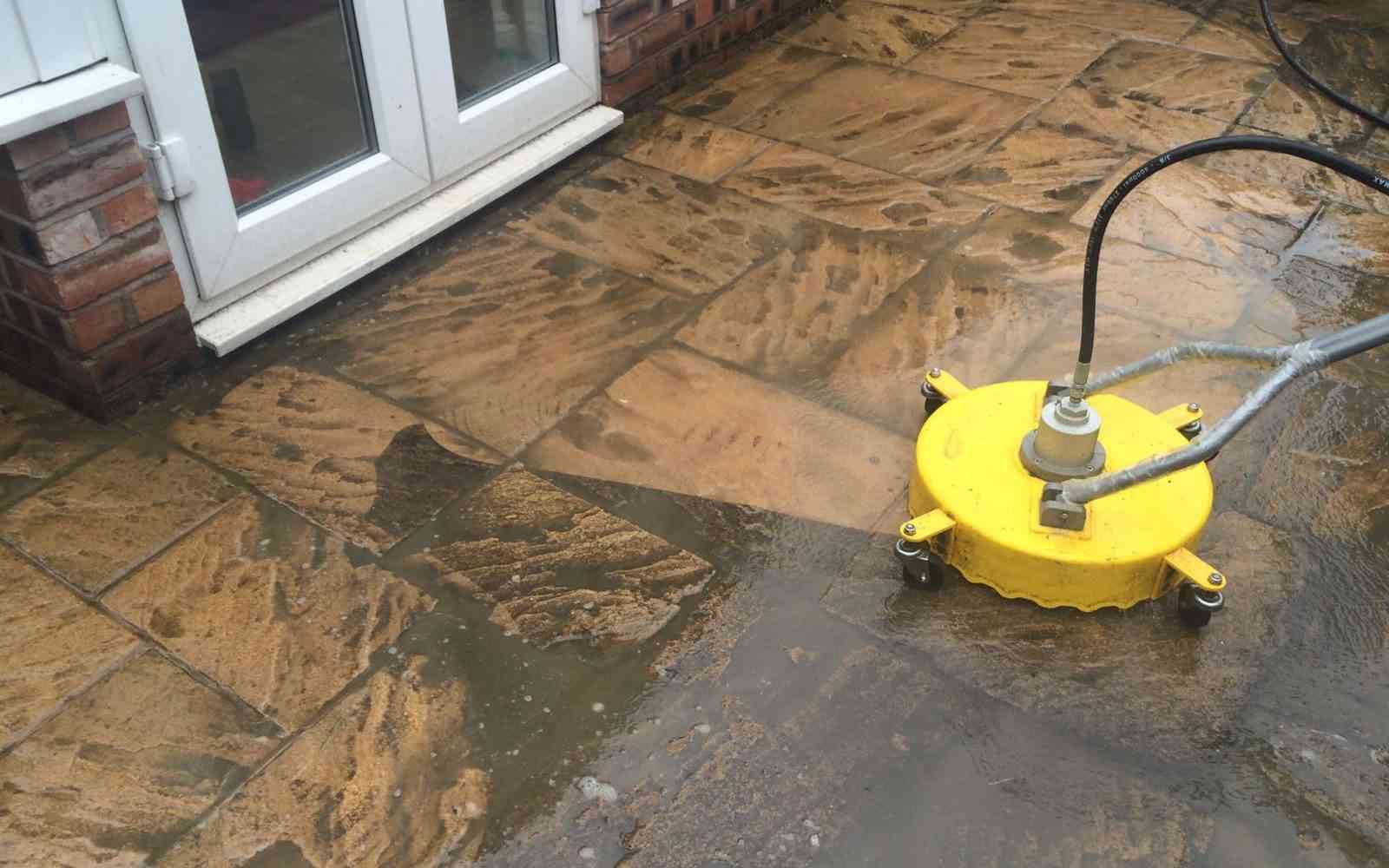 During-Industrial-Jet-Washing Manchester