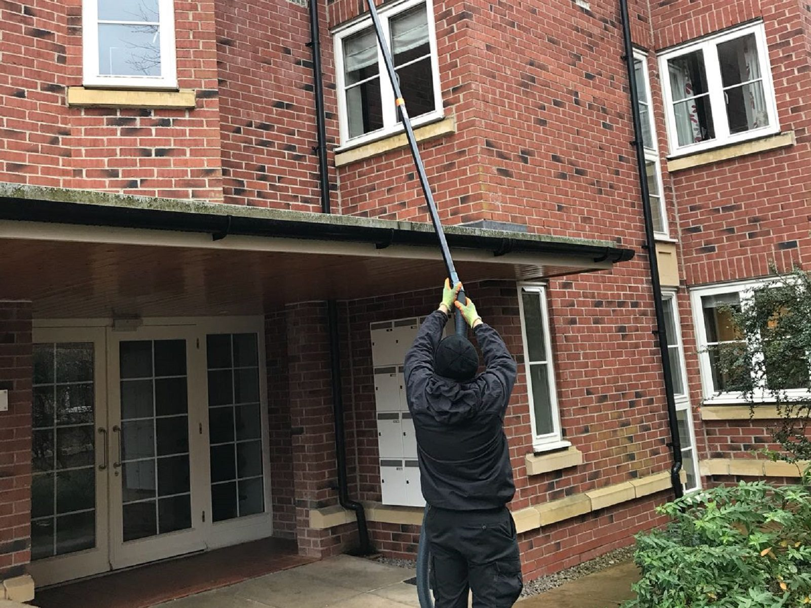 Gutter Clearance at homes in Altrincham